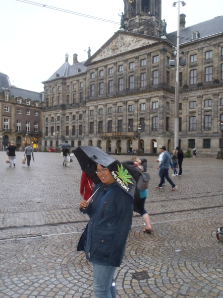 Tourist in Amsterdam 2017